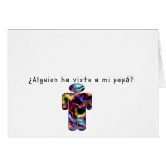 Spanish-Daddy Card