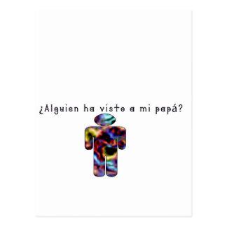 Spanish-Daddy Postcard