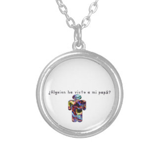 Spanish-Daddy Silver Plated Necklace