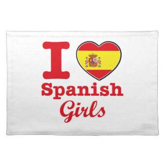 Spanish design place mat