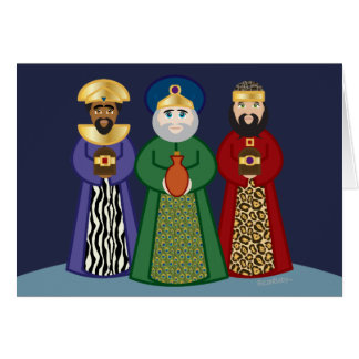 spanish DIA DE REYES * three kings day * card 1