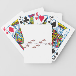 Spanish-Dragon Bicycle Playing Cards