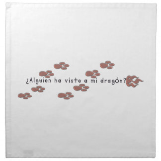 Spanish-Dragon Napkin