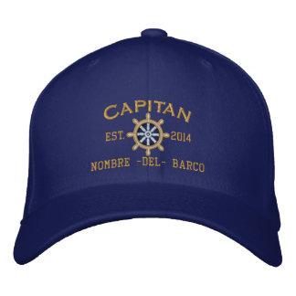 SPANISH El Capitan Su ubicación Nombre del barco. Embroidered Cap