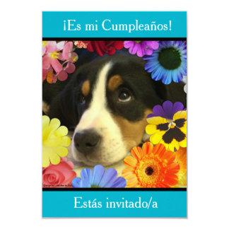 Spanish: Fiesta de cumpleaños - Invitación Customized Invitation Cards