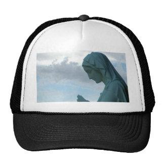 Spanish First Communion Invitation Lady Praying Trucker Hat
