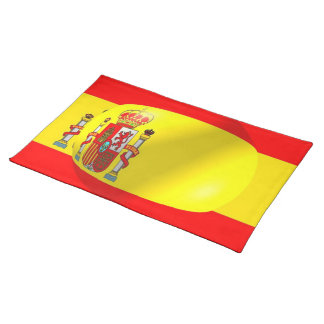 Spanish Flag American MoJo Placemat