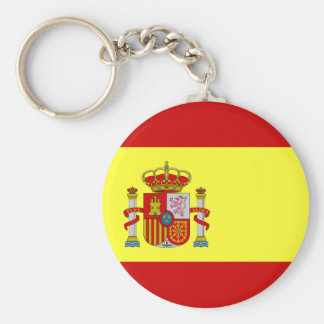 Spanish Flag Bandera Española Key Ring