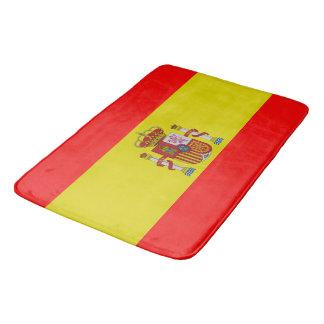 Spanish flag bath mat