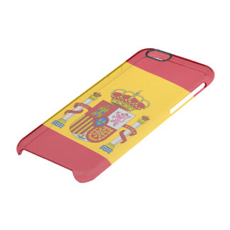 Spanish flag clear iPhone 6/6S case