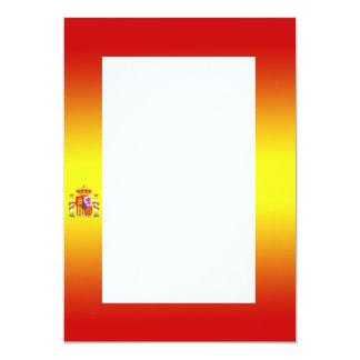 Spanish Flag Gradient Invitation