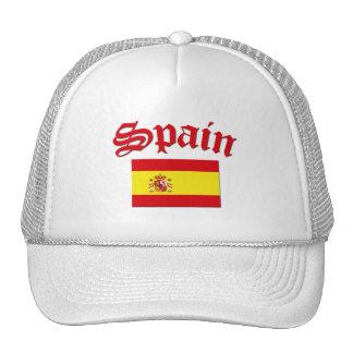 Spanish Flag Trucker Hats