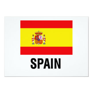 SPANISH FLAG CARDS