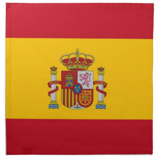 Spanish Flag on MoJo Napkin