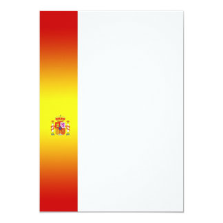 Spanish Flag Panel Invitation