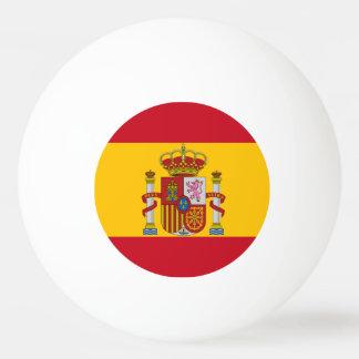 Spanish flag ping pong ball