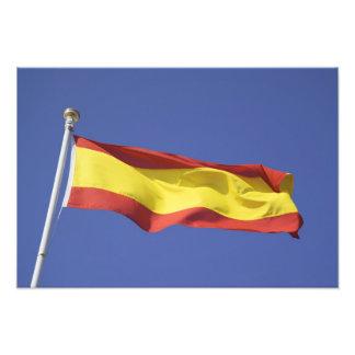 Spanish Flag RF) Photo Print