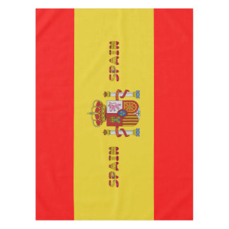 Spanish flag tablecloth