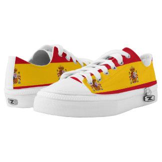 Spanish Flag tennis shoes Printed Shoes