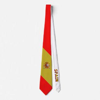 Spanish flag tie