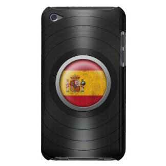 Spanish Flag Vinyl Record Album Graphic Barely There iPod Covers
