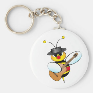 Spanish Flamenco bee Key Ring