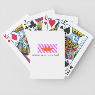 Spanish-Fool Bicycle Playing Cards