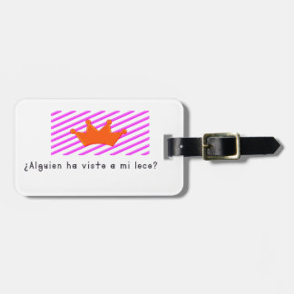 Spanish-Fool Luggage Tag