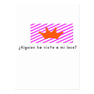 Spanish-Fool Postcard