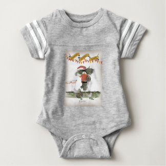 spanish football captain baby bodysuit