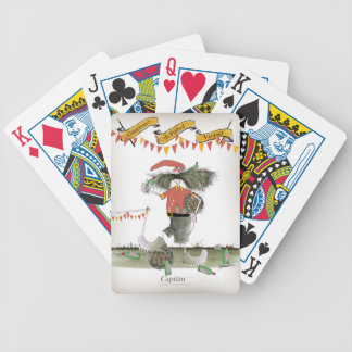 spanish football captain bicycle playing cards