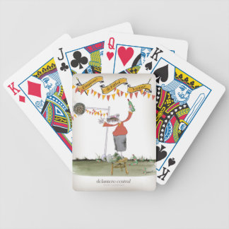 spanish football striker bicycle playing cards