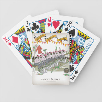 spanish football substitutes bicycle playing cards
