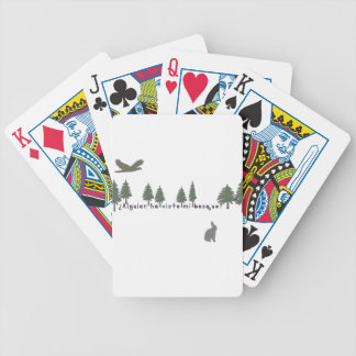 Spanish-Forest Bicycle Playing Cards