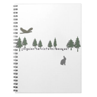 Spanish-Forest Notebook