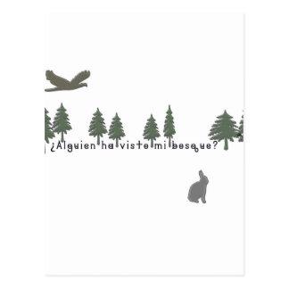 Spanish-Forest Postcard