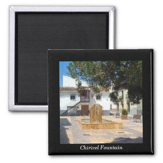 Spanish Fountain magnet - Chirivel, Almeria