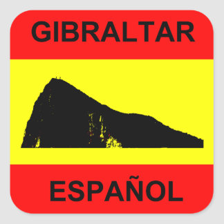 Spanish Gibraltar 20 Stickers