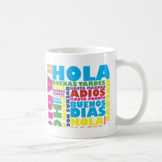 Spanish Greetings Mugs
