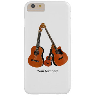 Spanish Guitar Acoustic Bass and Ukulele Barely There iPhone 6 Plus Case