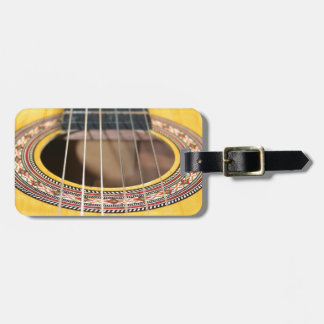 Spanish Guitar Luggage Tag