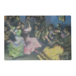 Spanish Gypsy Dancers, 1898 Laminated Place Mat