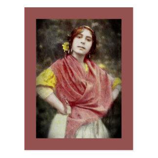 Spanish Gypsy Woman Postcard
