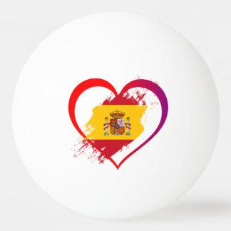 Spanish heart ping pong ball