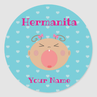 Spanish Hermanita/Little Sister Sticker
