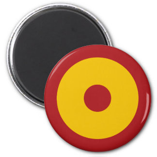 Spanish insignia, Spanish Roundel 6 Cm Round Magnet