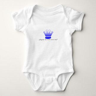Spanish-King Baby Bodysuit