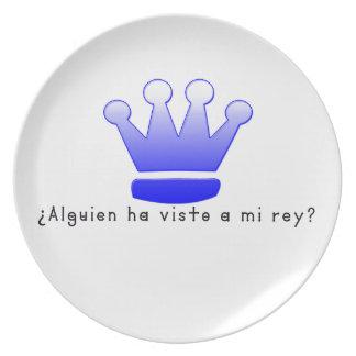 Spanish-King Plate