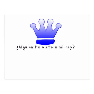 Spanish-King Postcard