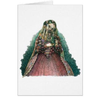 Spanish Lady Card